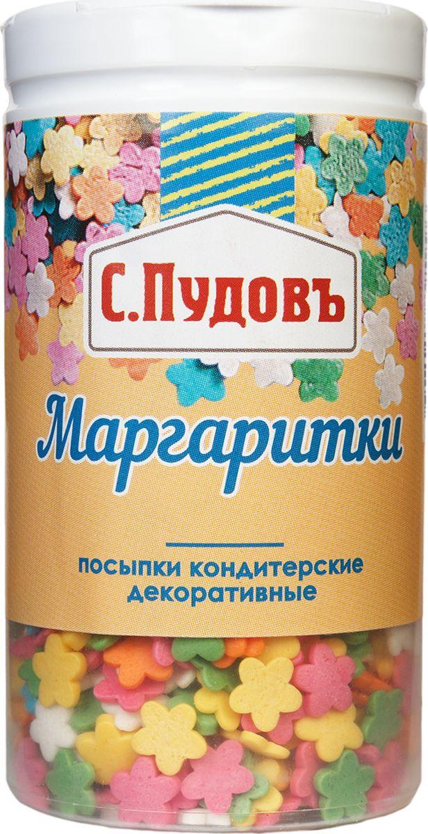 Пудовъ посыпки маргаритки, 40 г пудовъ мука ржаная обдирная 1 кг