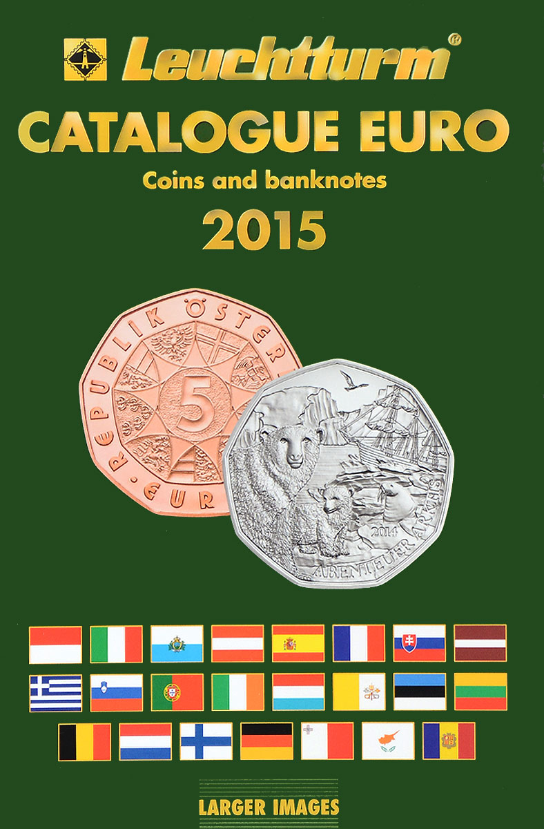 Catalogue Euro / Coins and banknotes / 2015 каталог мой эйвон 5 2015