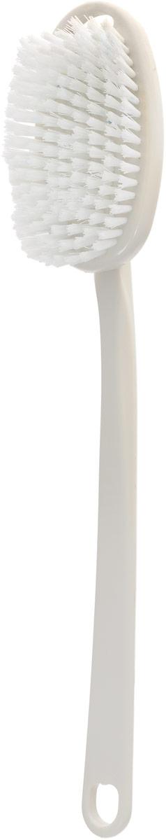 Щетка массажная для тела Riffi, со съемной ручкой, цвет: молочный674_молочныйЩетка массажная для тела Riffi, со съемной ручкой, цвет: молочный