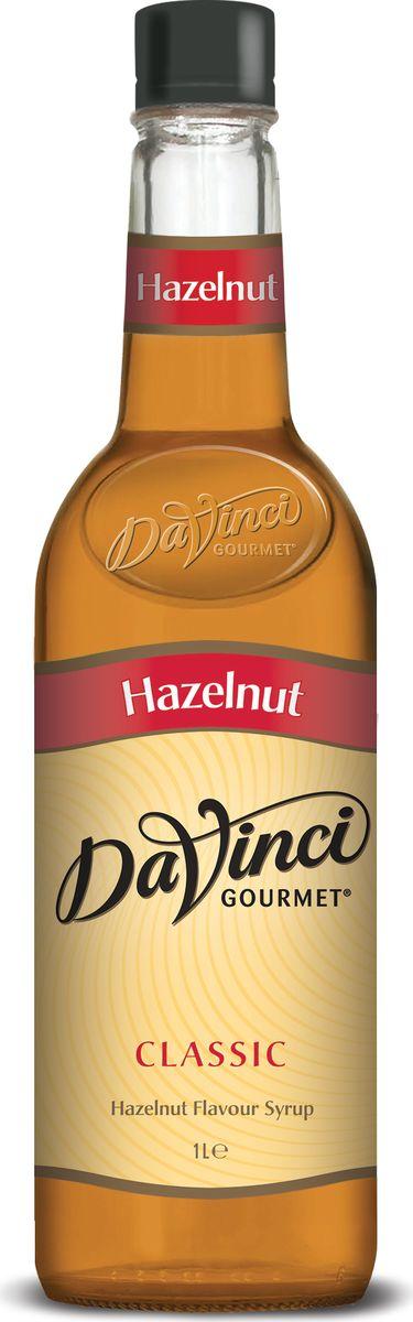 DaVinci Лесной орех Classic сироп, 1 л миндальный сироп для кофе