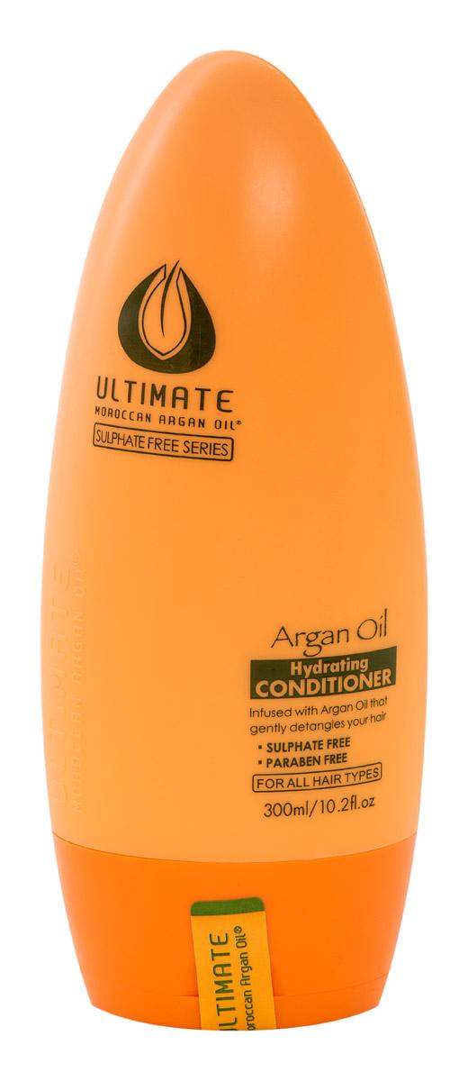 Ultimate Увлажняющий кондиционер для волос Глубокое Восстановление Argan Oil Hydrating Conditioner 300 МЛ872004331Продукт для профессионального и персонального применения. Не утяжеляет даже тонкие волосы, обеспечивает видимый эффект сияния за 1 - 2 применения. Для окрашенных волос (кислотный ph), термозащита волос при укладке феном. Для всех типов волос. Особенно эффективен для тонких и окрашенных волос. Результат: тонкие и непослушные волосы обретают силу, здоровый блеск, шелковистость и притягательный видимый объем.