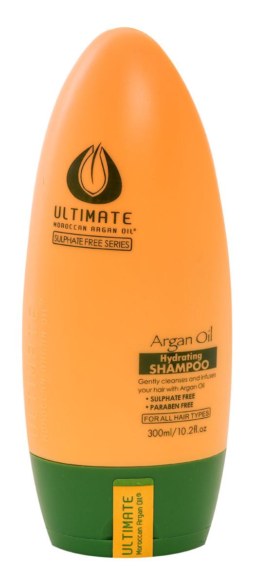 Ultimate Увлажняющий шампунь Глубокое Восстановление Argan Oil Hydrating Shampoo 300 МЛ hask argan oil дуо набор для восстановления волос argan oil дуо набор для восстановления волос