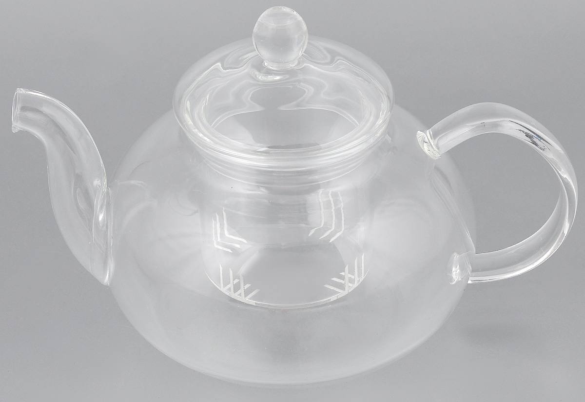 Чайник заварочный Hunan Provincial Смородина, 600 мл15038Заварочный чайник Hunan Provincial Смородина изготовлен из стекла. Пить чай из такого чайника сплошное удовольствие! Полностью прозрачная формапозволяет любоваться цветом своего любимого напитка. Устойчивая основа, широкий носик, удобная ручка - все выполнено идеально для достижения полногокомфорта в использовании. Внутреннее сито выполнено на 100% из стекла. После того, как чай заварился, колбу лучше всего достать из чайника, для того чтобы чайный лист не перезаваривался. Диаметр чайника (по верхнему краю): 6,5 см.Высота чайника (без учета крышки): 7,5 см.Высота чайника (с учетом крышки): 12 см. Высота фильтра: 6 см.