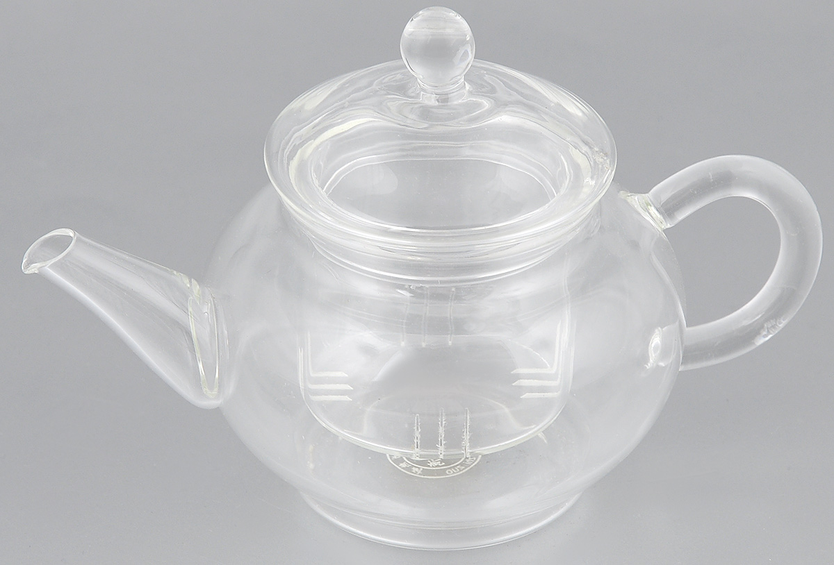 Чайник заварочный Hunan Provincial Ирга, 250 мл15012Заварочный чайник Hunan Provincial Ирга изготовлен из стекла. Пить чай из такого чайника сплошное удовольствие! Полностью прозрачная форма позволяет любоваться цветом своего любимого напитка. Устойчивая основа, широкий носик, удобная ручка - все выполнено идеально для достижения полного комфорта в использовании. Внутреннее сито выполнено на 100% из стекла. После того, как чай заварился, колбу лучше всего достать из чайника, для того чтобы чайный лист не перезаваривался. Диаметр чайника (по верхнему краю): 5,5 см.Высота чайника (без учета крышки): 6 см.Высота чайника (с учетом крышки): 10 см. Высота фильтра: 4,8 см.