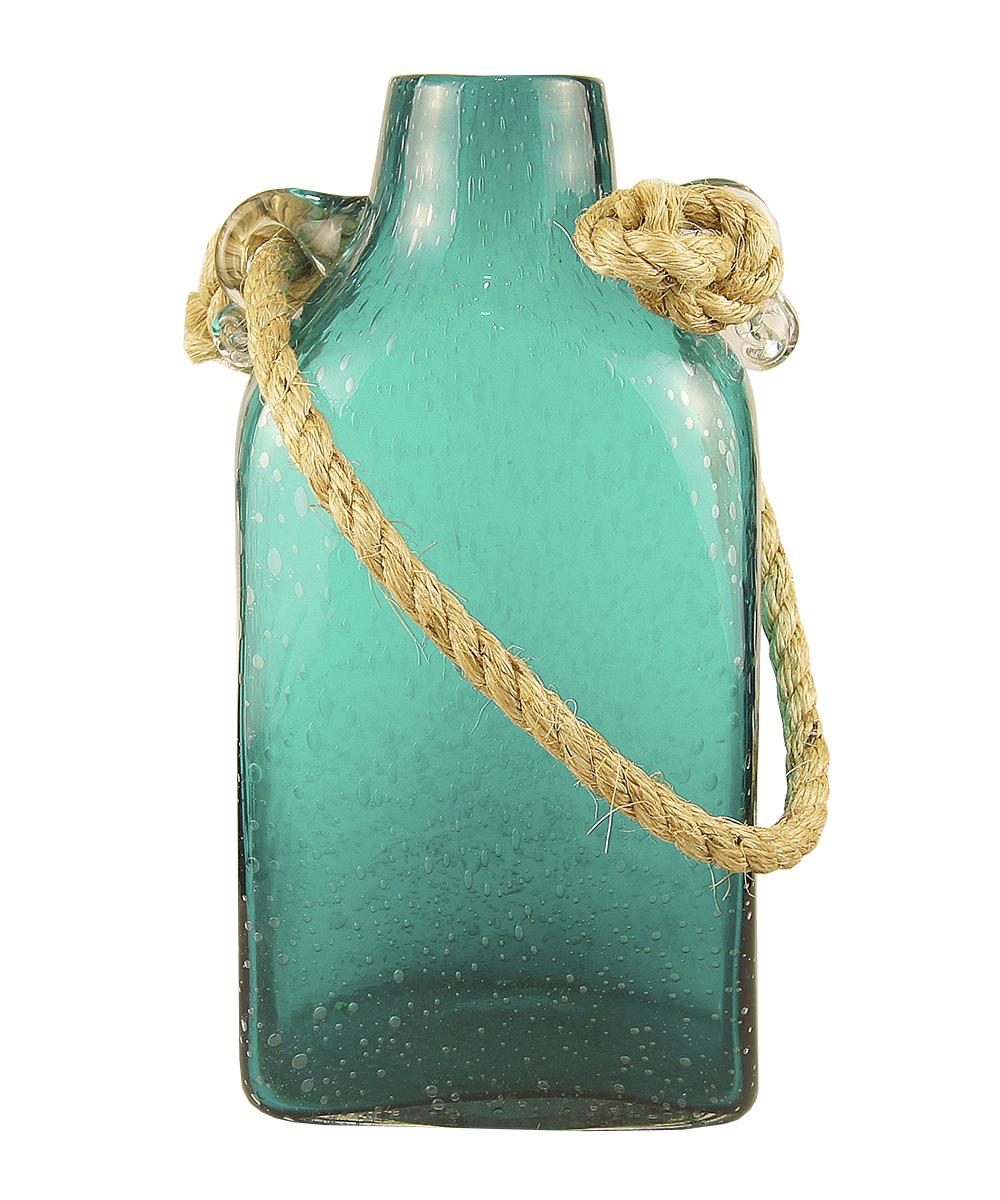 Ваза Этажерка Berber, с ручкой, цвет: бирюзовый, высота 33 см1355-32Ваза Этажерка Berber выполнена из высококачественного стекла и имеет изысканныйвнешний вид. Такая ваза станет идеальным украшениеминтерьера и прекрасным подарком к любому случаю. Изделие оснащено текстильной ручкой.Высота вазы: 33 см.