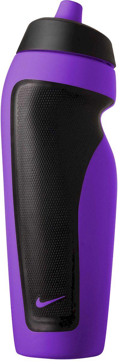 Бутылка для воды Nike Sport, цвет: пурпурный, черный, 600 млN.OB.11.511.OSЭкологически чистая Бутылка для воды Nike Sport. Герметичный клапан не позволяет воде расплескиваться. Ассиметричный дизайн для одной руки обеспечивает удобство при использовании во время тренировок и в спортивном зале. Объем: 600 мл.