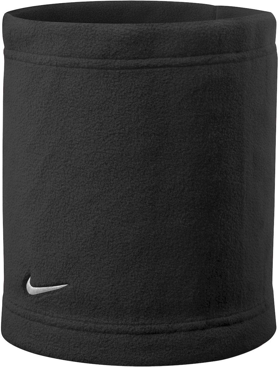 Шарф Nike Basic Neck Warmer, цвет: черный, белый. N.WA.55.010.OS. Размер универсальныйN.WA.55.010.OSУдобный и стильный снуд Nike выполнен из качественного флиса, что позволяет прекрасно защищать от ветра и холода. Обладает удобной посадкой, дополнен регулируемым шнурком. Снуд декорирован вышитым Swoosh-лого, повышающим узнаваемость бренда. Незаменимый аксессуар для пробежек и тренировок в плохую погоду.