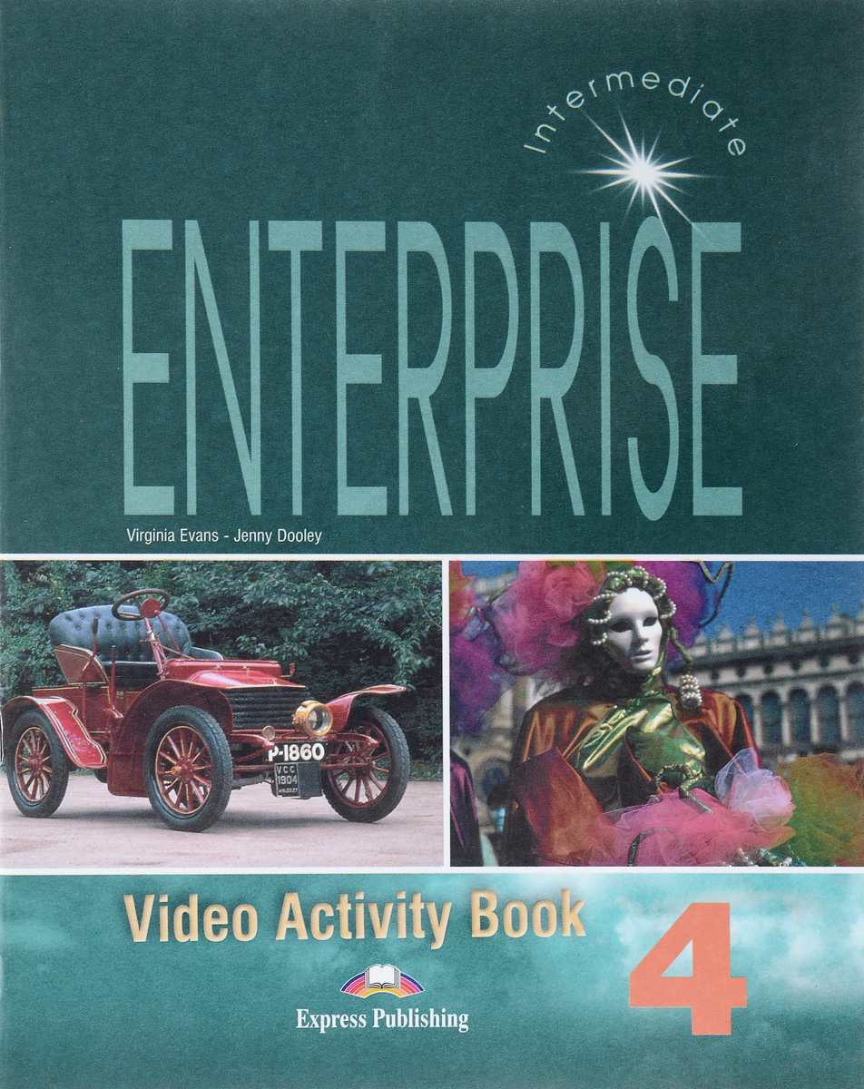 Virginia Evans, Jenny Dooley Enterprise 4: Video Activity Book: Intermediate christmas colouring and activity book
