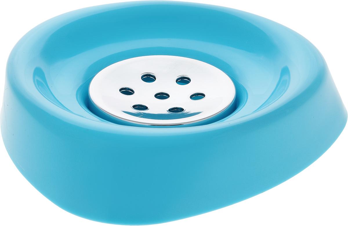 Мыльница Vanstore Wiki, цвет: голубой, 12,5 х 12,5 х 2,5 см356-04Оригинальная мыльница Vanstore Wiki выполнена из высококачественного пластика. Изделие отлично подойдет для вашей ванной комнаты.Такая мыльница создаст особую атмосферу уюта и максимального комфорта в ванной.Размер мыльницы: 12,5 х 12,5 х 2,5 см.