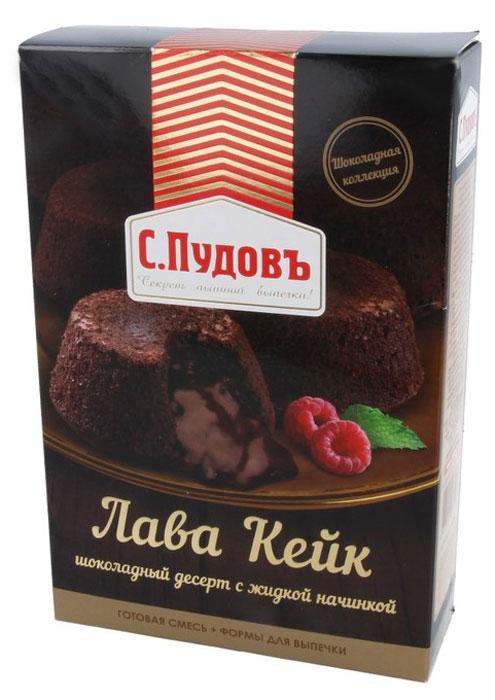 Пудовъ Лава кейк шоколадный десерт, 250 г недорого