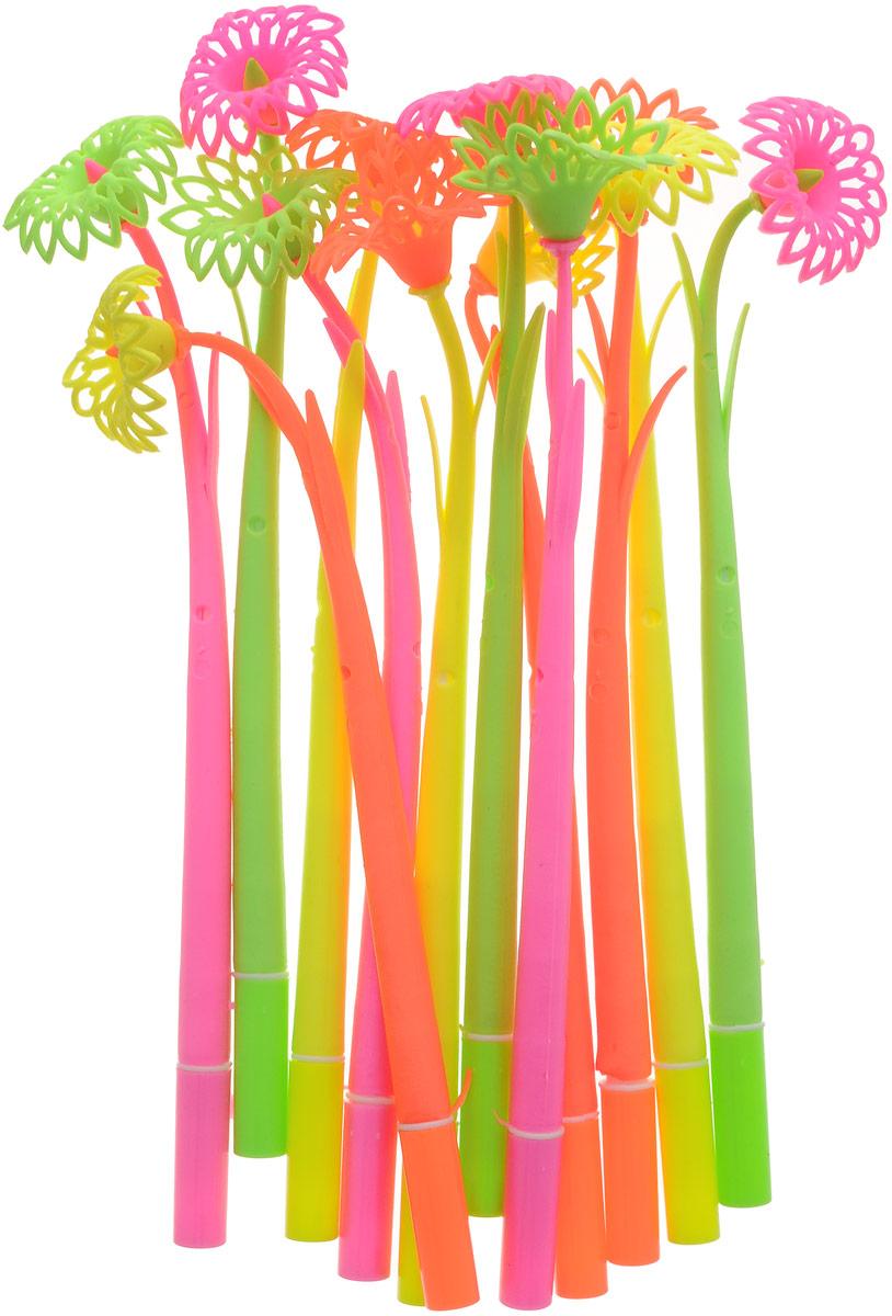 Эврика Ручки мягкие 12 шт 9618296182Оригинальные шариковые ручки Эврика выполнены из мягкого полимера в виде симпатичных цветочков. Ручки могут гнуться в разные стороны. Гибкие, удобные ручки с нескользящим корпусом, шариковым пишущим стержнем и удивительным флористическим дизайном вдохновят свежестью формы каждого обладателя.Ручки с синими чернилами и компактными пластиковыми колпачками.Такая ручка станет отличным подарком и незаменимым аксессуаром, она несомненно, удивит и порадует получателя. Сотрудниц, родных, знакомых и любимых девушек можно радовать целыми букетами, составленными из ручек с разным декором.