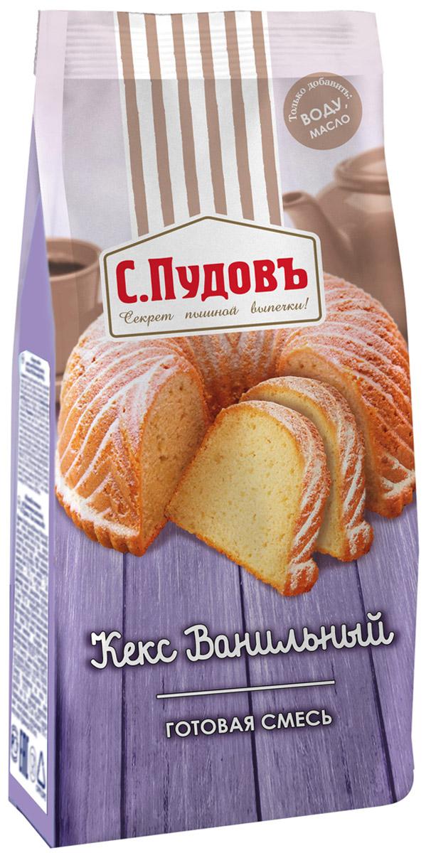 Пудовъ кекс ванильный, 400 г