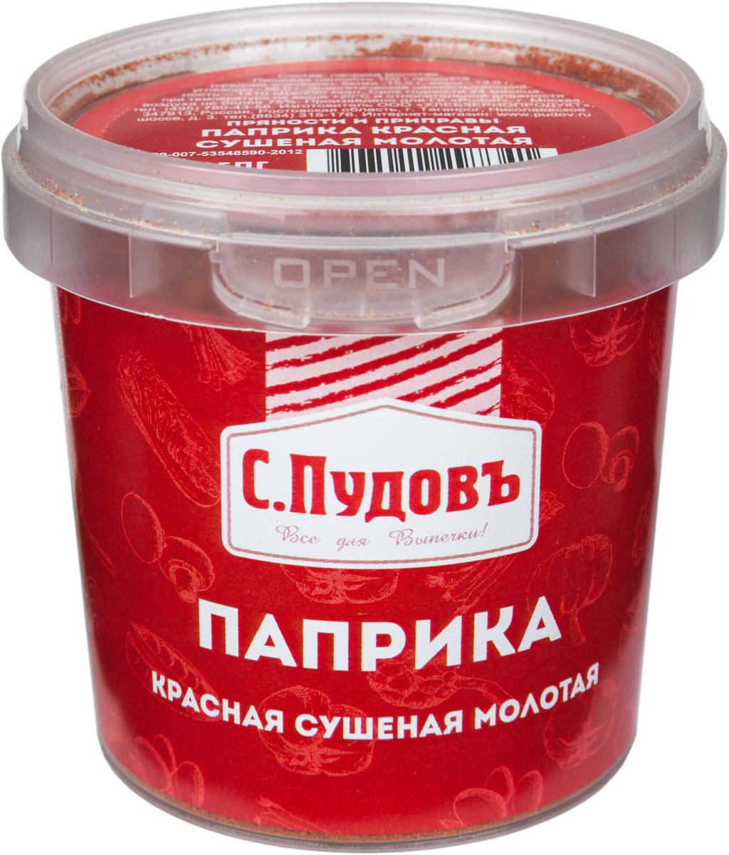 Пудовъ паприка красная сушеная молотая, 80 г пудовъ ржаной хлеб с клюквой и анисом 500 г