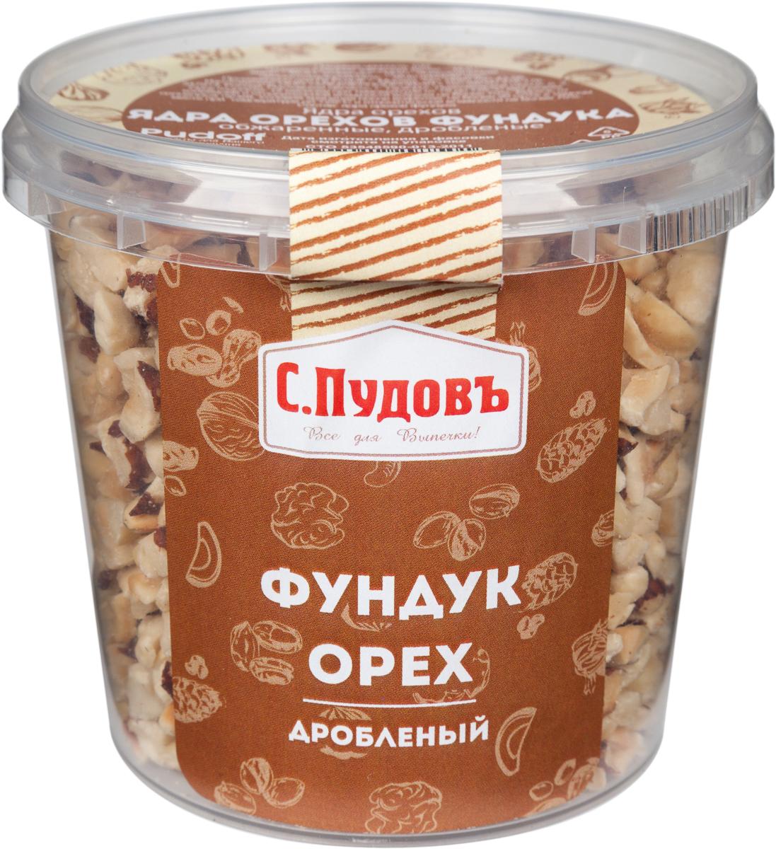 Пудовъ фундук дробленый, 180 г пудовъ ванильный сахар 60 штук по 15 г