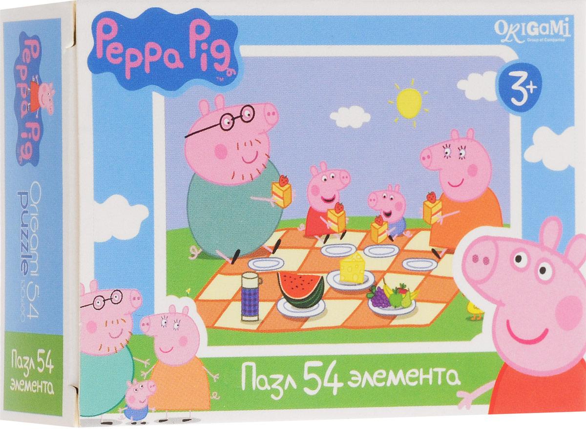 Оригами Пазл для малышей Peppa Pig Пикник пазл origami peppa pig транспорт 4 в 1