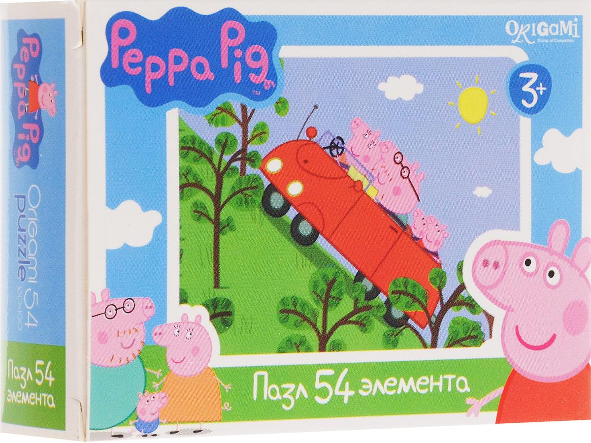 Оригами Пазл для малышей Peppa Pig Машина Оригами