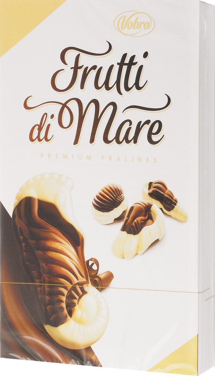 Vobro Frutti di Mare набор шоколадных конфет в виде морских ракушек, 175 г деткино шоколадные фигурки из молочного шоколада 135 г
