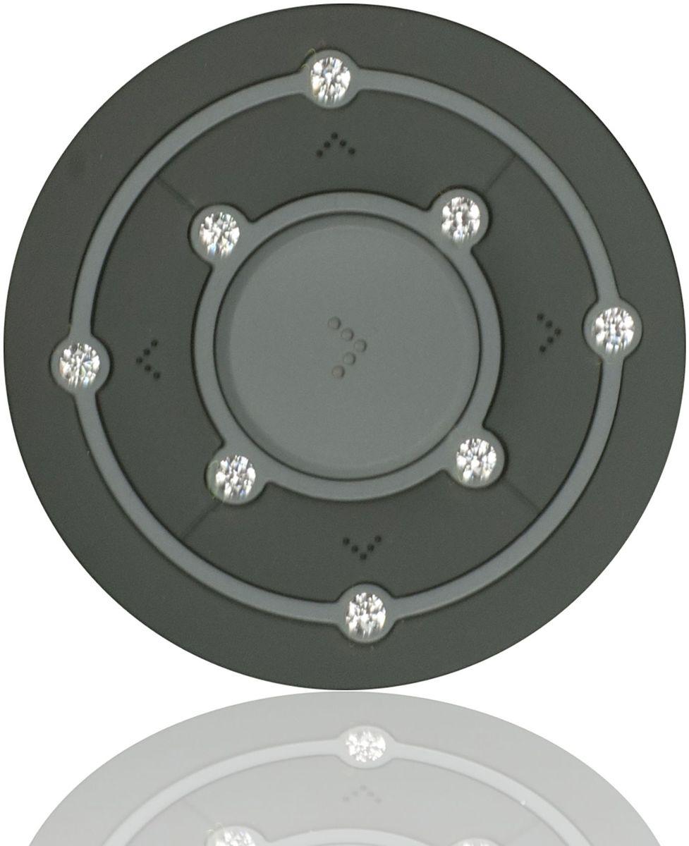 Ritmix RF-2850 8Gb, Gray MP3-плеер15118340Ritmix RF-2850 – это компактный MP3-плеер, предназначенный для тех, кто ценит стиль и индивидуальность. Круглый корпус украшен Swarovski Zirconia, которые придают устройству неповторимый шарм.Плеер оснащён надёжным креплением в форме клипсы, что несомненно обрадует любителей активного образа жизни.
