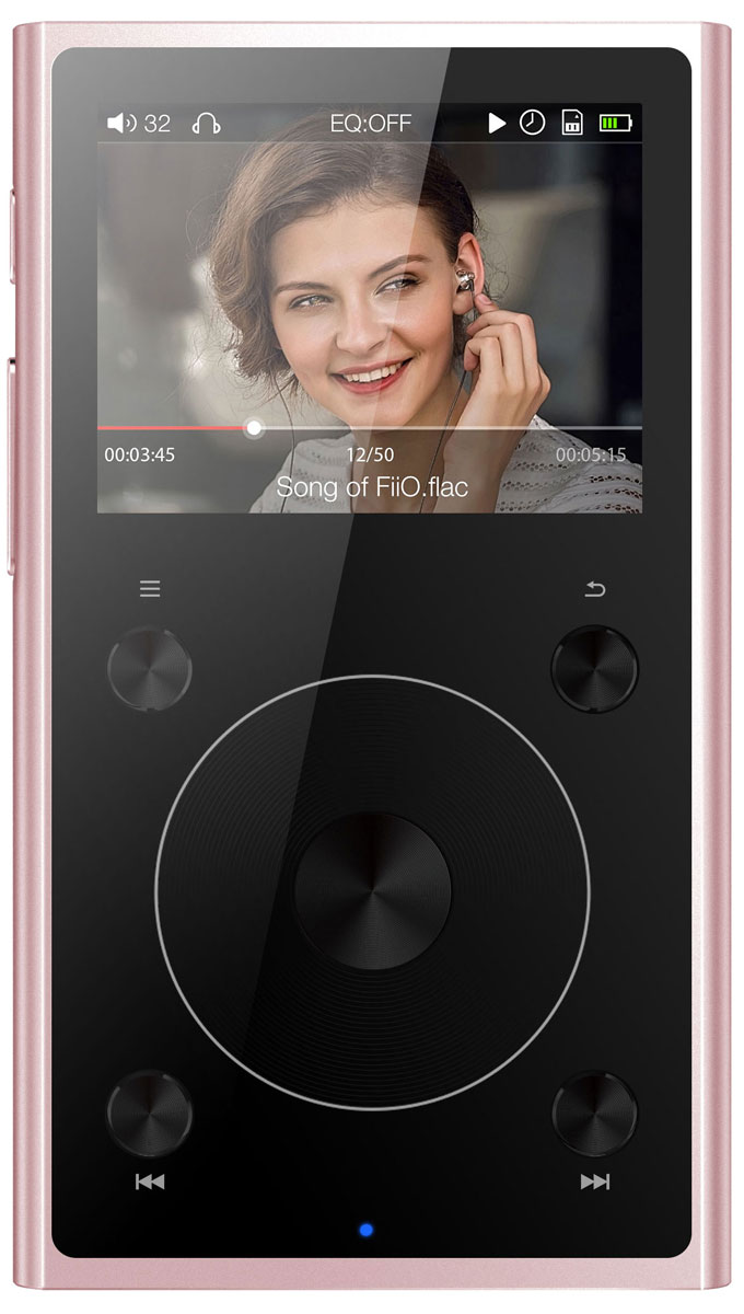 Fiio X1 II, Rose Gold Hi-Res плеер