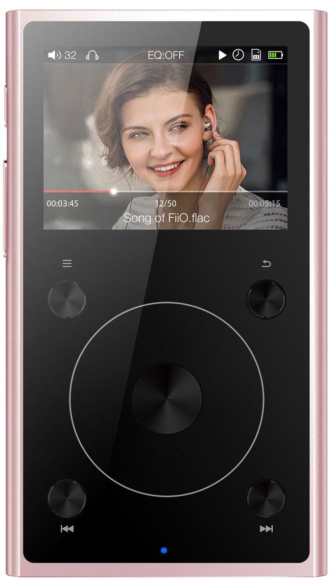 Fiio X1 II, Rose Gold Hi-Res плеер - MP3-плееры и диктофоны