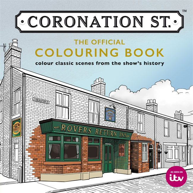 Coronation Street: The Official Colouring Book die hard the official colouring book