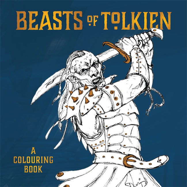 Beasts of Tolkien: A Colouring Book