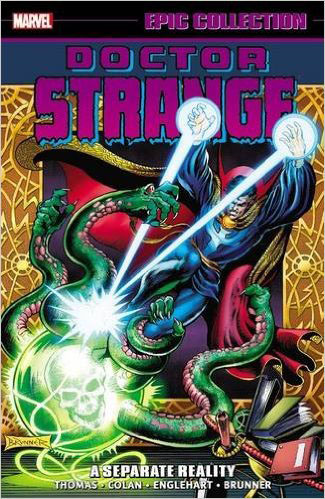 Doctor Strange Epic Collection: A Separate Reality the art of emily the strange