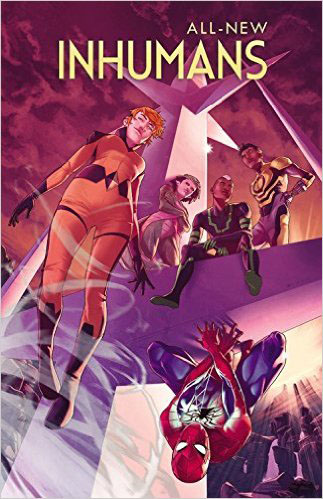 All-New Inhumans Vol. 2: Skyspears inhuman vol 1