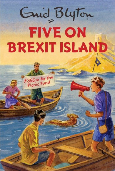 Five Give On Brexit Island chris wormell george and the dragon