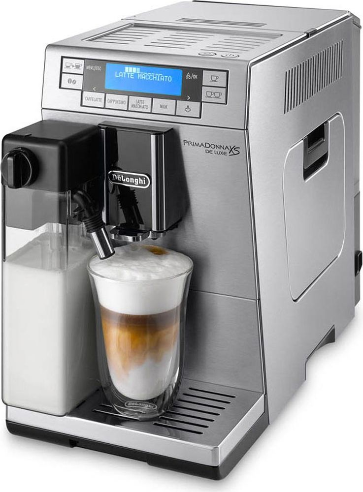 DeLonghi PrimaDonna XS DeLuxe ETAM36.364.M кофемашина delonghi primadonna elite ecam 650 75 ms кофемашина