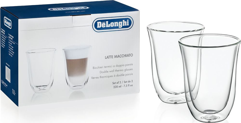 DeLonghi Latte cups чашки, 2 шт5513214611