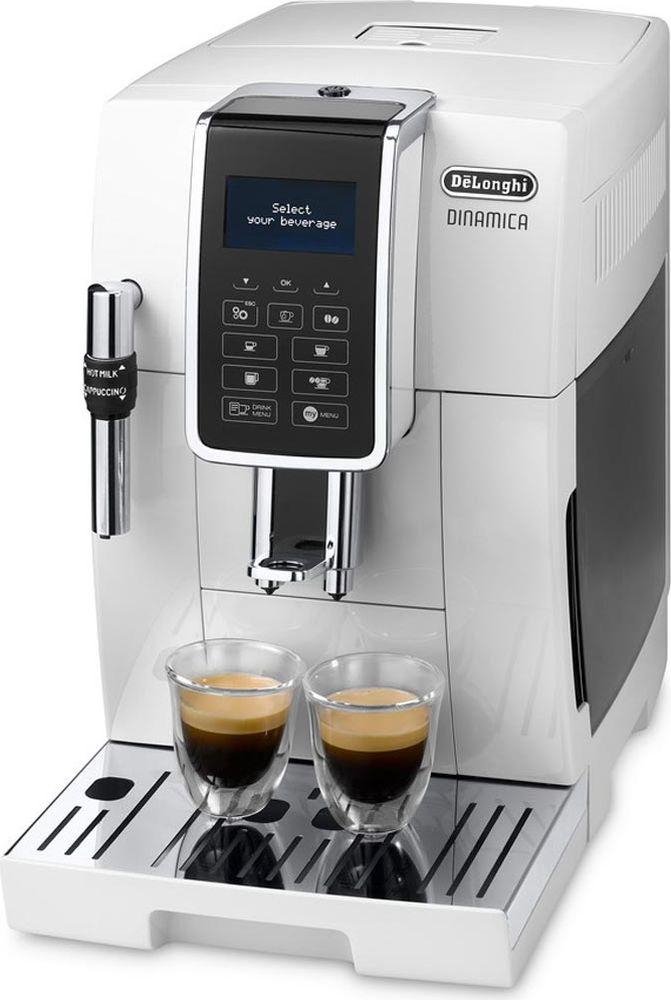 DeLonghi Dinamica ECAM 350.35.W кофемашина кофемашина delonghi magnifica s ecam 21 117 b