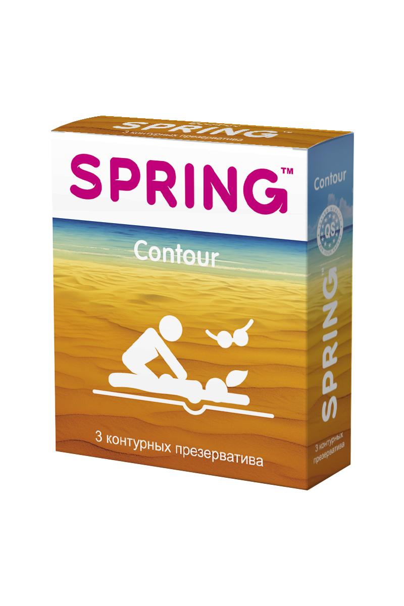 Презервативы SPRING™ Contour, контурныные, 3 шт.175Создают ощущение максимального комфорта и естественности для мужчин за счёт контурной формы презерватива. Большее наслаждение во время интимнои? близости, дополненное безупречнои? надежностью использования, с силиконовой смазкой