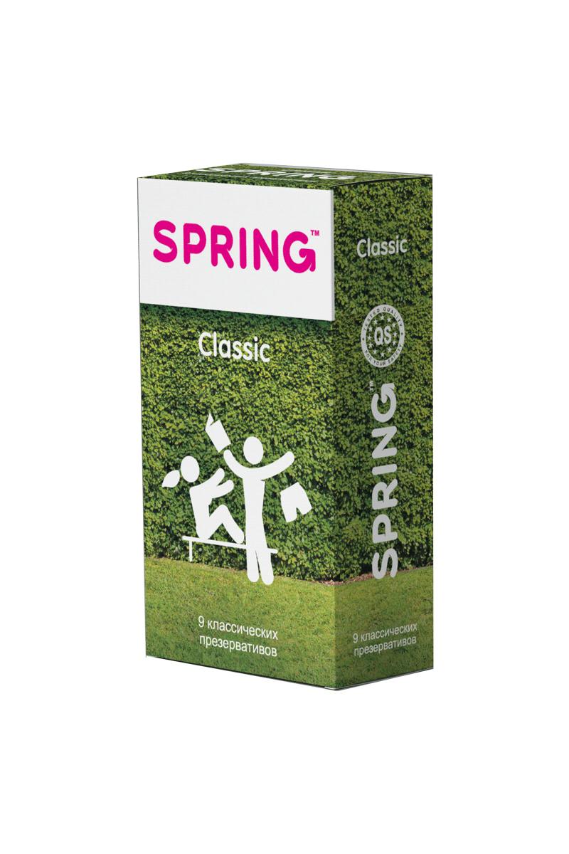 Презервативы SPRING™ Classcic, классические, 9 шт. гели и смазки kanikule