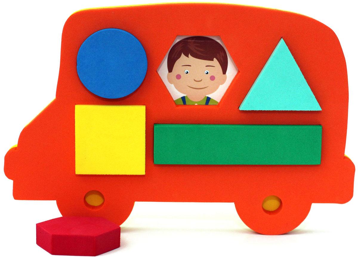 El'BascoToys Головоломка-сортер Автобус jia le toys автобус сортер