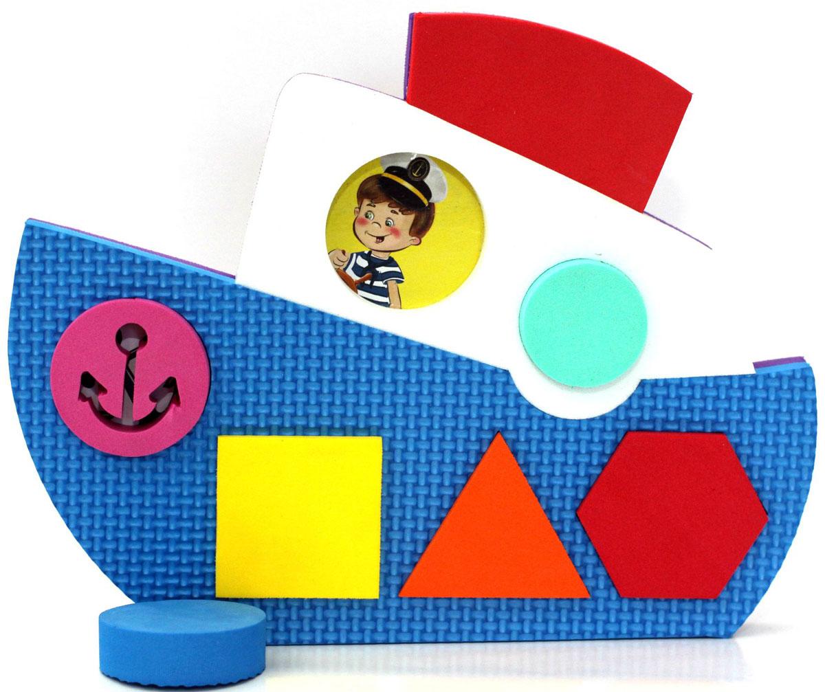 El'BascoToys Головоломка-сортер Кораблик Уцененный товар (№1), Развивающие игрушки  - купить со скидкой
