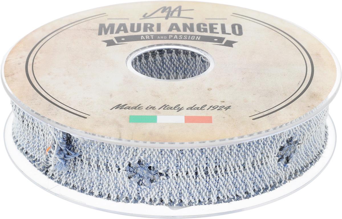 Лента кружевная Mauri Angelo, цвет: голубой, белый, серый, 2,8 см х 10 мMR2626/PPT/NA3Декоративная кружевная лента Mauri Angelo выполнена из высококачественных материалов. Кружево применяется для отделки одежды, постельного белья, а также в оформлении интерьера, декоративных панно, скатертей, тюлей, покрывал. Главные особенности кружева - воздушность, тонкость, эластичность, узорность.Такая лента станет незаменимым элементом в создании рукотворного шедевра.