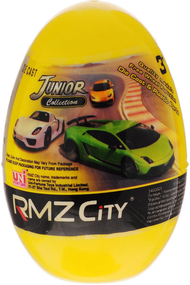 Uni-Fortune Toys Яйцо с моделью автомобиля цвет желтый uni fortunetoys модель автомобиля porsche cayenne turbo