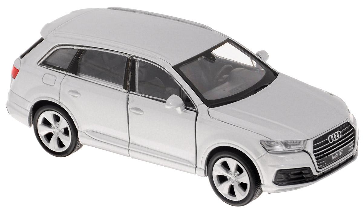 Welly Модель автомобиля Audi Q7 цвет белый машина welly audi q7 43706