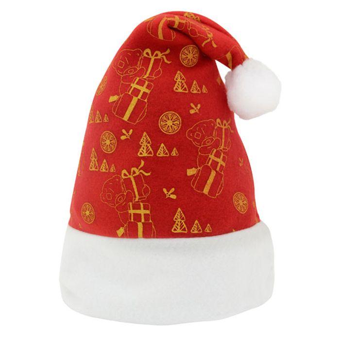 Шляпа карнавальная Winter Wings Дед Мороз. Me to you, 38 х 30 см. MTY-N02002 мешок подарочный me to you 18х24 см