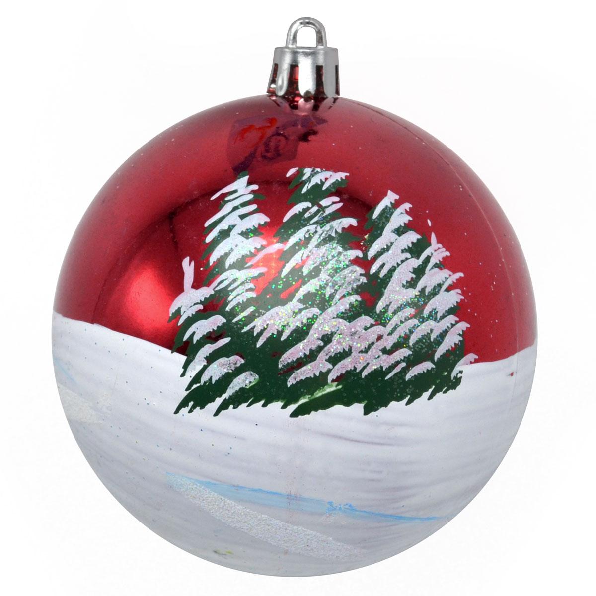 Новогоднее подвесное украшение Winter Wings Шар. Роспись, диаметр 8 смN181869Новогоднее подвесное украшение Winter Wings отлично подойдет для декорации вашего дома и новогодней ели. Новогоднее украшение можно повесить в любом понравившемся вам месте. Но, конечно, удачнее всего оно будет смотреться на праздничной елке.Елочная игрушка - символ Нового года. Она несет в себе волшебство и красоту праздника. Такое украшение создаст в вашем доме атмосферу праздника, веселья и радости.