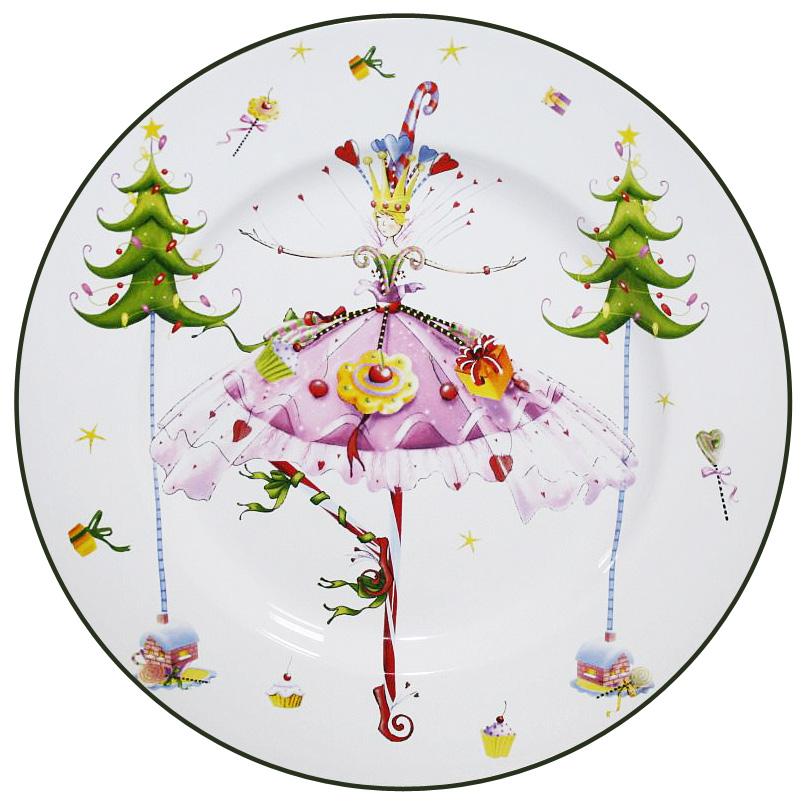Блюдо Azulejo Espanol Ceramica Dancing Lady, диаметр 27,5 см216752-1522Круглое блюдо Azulejo Espanol Ceramica Dancing Lady, выполненное из высококачественной керамики, оформлено красочным рисунком. Данное блюдо отлично подойдет для подачи закусок, сладостей или фруктов.