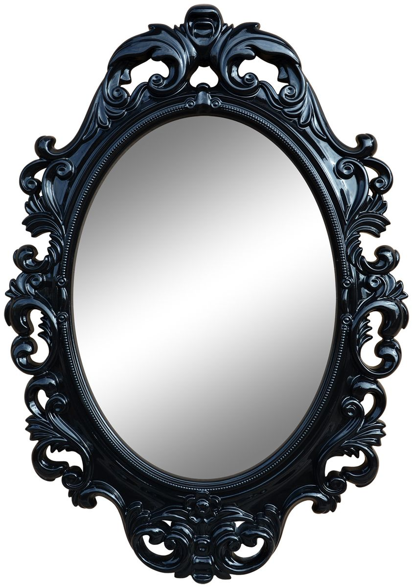 Зеркало VezzoLLi Винтаж, цвет: черный, 96 х 67 см6-56