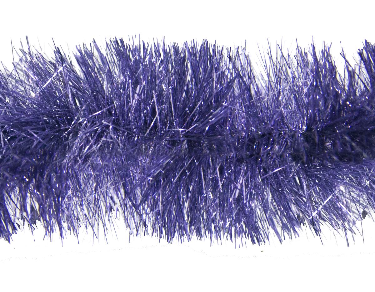 Мишура новогодняя Moranduzzo, цвет: лиловый, диаметр 7,5 см, длина 200 см117752112Новогодняя мишура Moranduzzo, выполненная из ПВХ, поможет вам украсить свой дом к предстоящим праздникам. Новогодняя елка с таким украшением станет еще наряднее. Новогодней мишурой можно украсить все, что угодно - елку, квартиру, дачу, офис - как внутри, так и снаружи. Можно сложить новогодние поздравления, буквы и цифры, мишурой можно украсить и дополнить гирлянды, можно выделить дверные колонны, оплести дверные проемы.