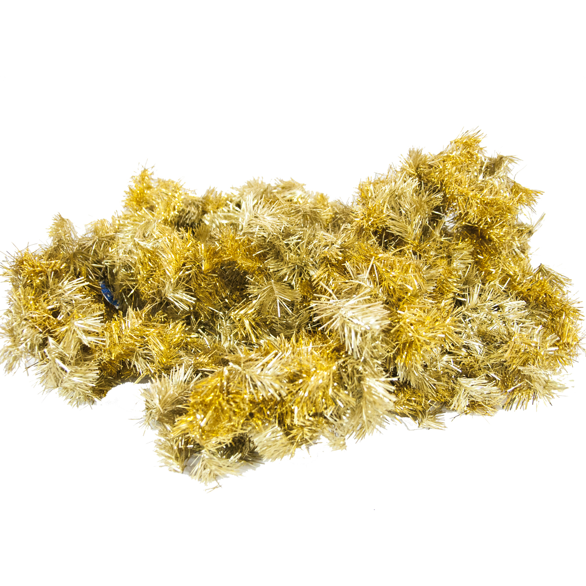 Мишура новогодняя Moranduzzo, цвет: золотистый, диаметр 20 см, длина 275 см мишура новогодняя eurohouse праздничная цвет сиреневый серебристый диаметр 9 см длина 200 см