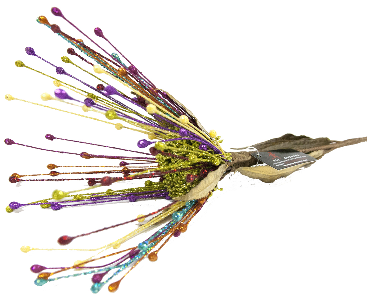 Украшение декоративное Lovemark Цветок, длина 38 см303161Декоративное украшение, выполненное в виде цветка.Букет с цветами ручной работы - великолепный подарок себе и вашим близким.
