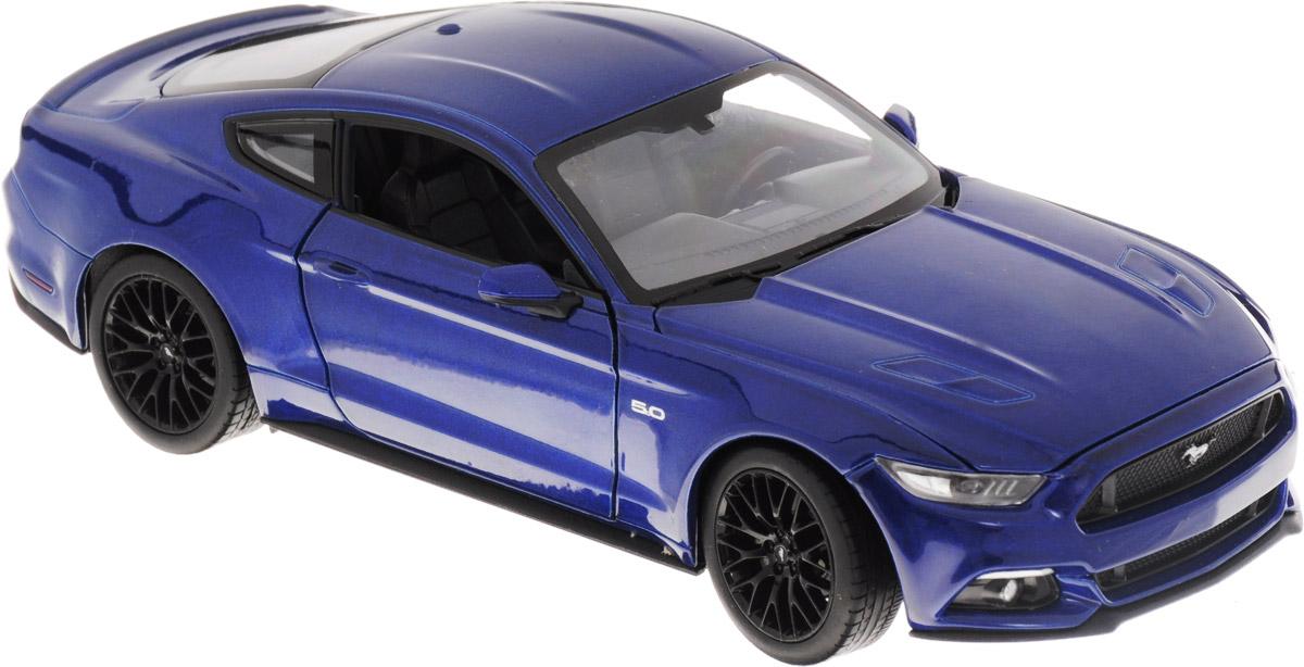 Welly Модель автомобиля Ford Mustang GT welly модель автомобиля audi r8 v10 цвет красный