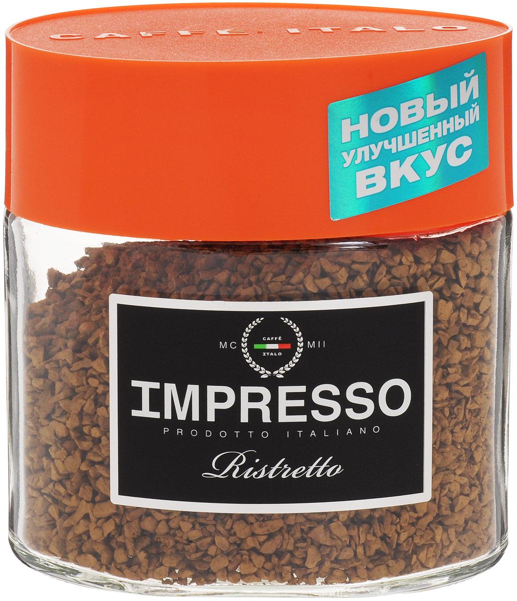 где купить Impresso Ristretto кофе растворимый, 100 г (стеклянная банка) по лучшей цене