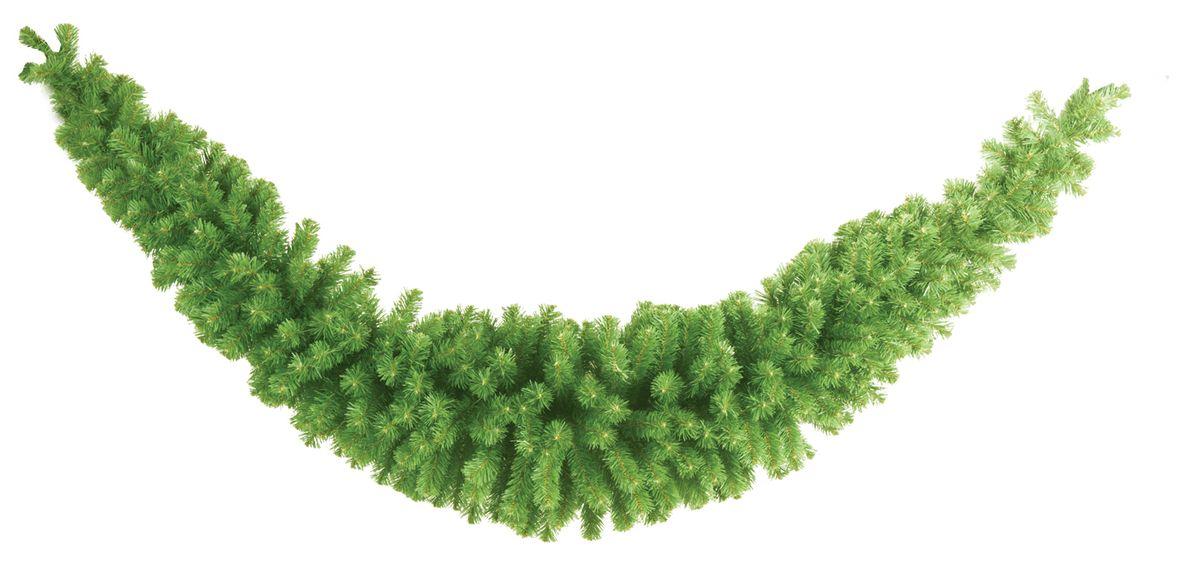 Гирлянда Morozco Рождественская-6, длина 2,7 мГР- 6Новогодняя хвойная гирлянда представляет собой оригинальную композицию изискусственных еловых веток. Гирлянды универсальны - ими удобно украсить дом,офис, торговый зал. Создайте в своем доме атмосферу тепла, веселья и радости.