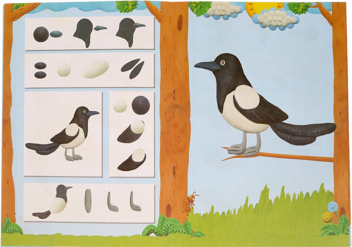 Картинки птиц из пластилина